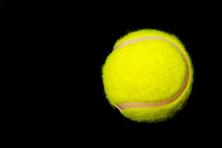 Tennis Ball ready to put your type on it. Stock Photo - 6730987