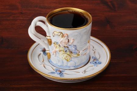 Antique Italian coffee cup. Stock Photo - 8315292