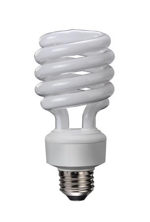 Compact Fluorescent Light Bulb.