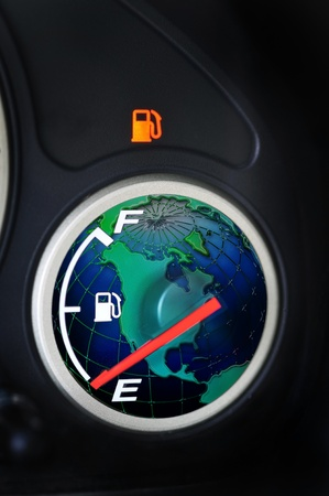 Out of gas in the USA. photo