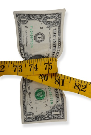 Measure you money these day. Stock Photo - 8398208
