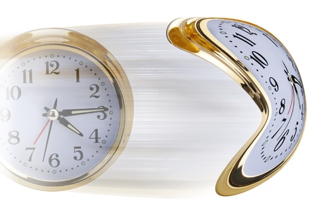 time flies: My how time flies. Stock Photo