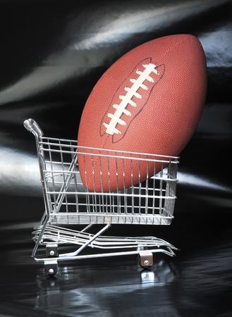 Football Shopping. Stock Photo - 9646402