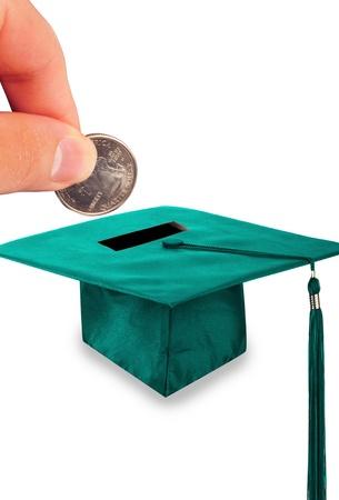 alumni: El costo de la educaci�n. Foto de archivo