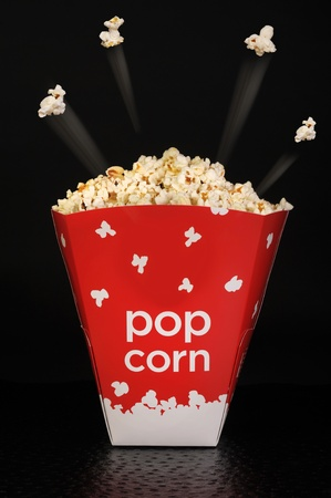 Popcorn flying high. Stock Photo - 10566424