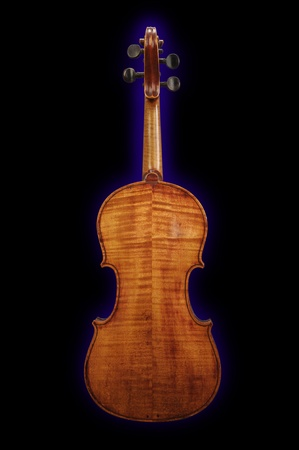 Back side of maple violin Stock Photo - 10909752