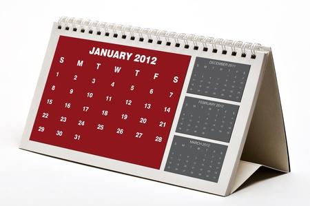 January  2012 Calendar photo