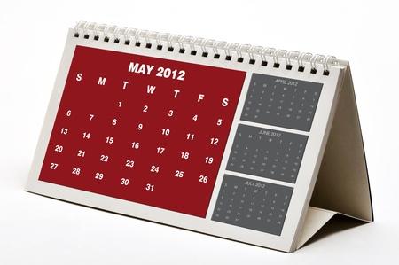 May 2012  Calendar photo