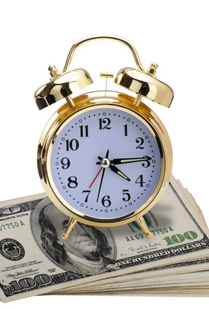 Time for money. Stock Photo - 11718408