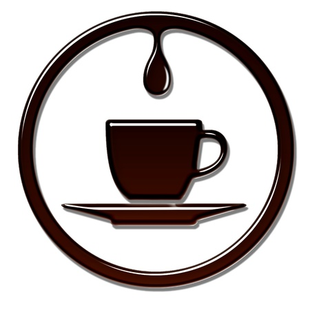 Coffee Cup with Drip.