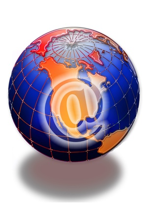 E-Commerce and the World. photo