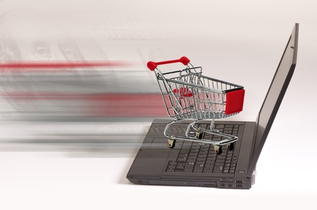 E-Commerce Shopping. Stock Photo - 11835378