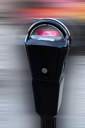 Coin parkeermeter.
