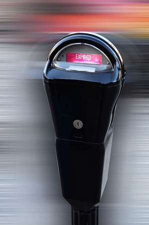expired: Coin Parking Meter.