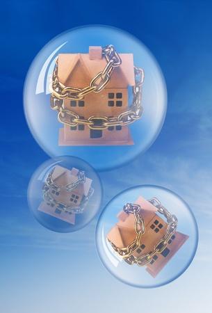 Housing Bubble. photo