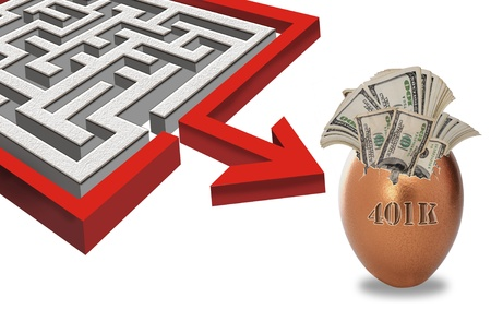 Maze to your 401K Investments. photo