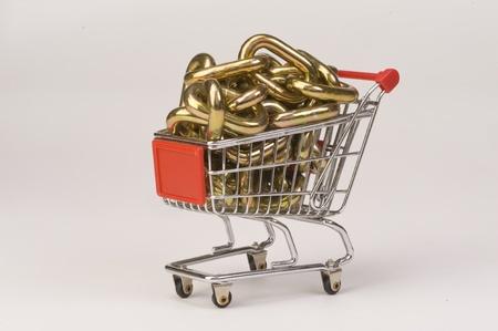 Shopping Cart Stock Photo - 12087745