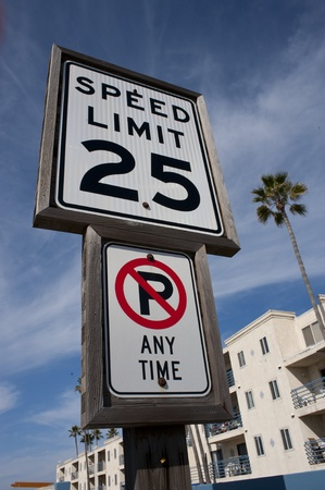 Speed Limit. Stock Photo - 12441841