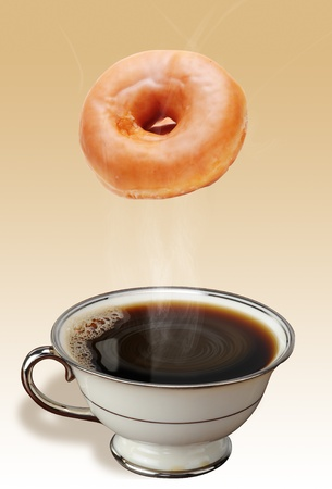 Coffee and Donuts Stock Photo - 12880365