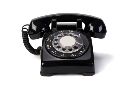 Old Style Rotary telephone  Stock Photo - 13156878