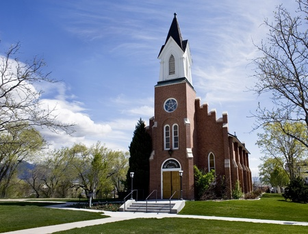 state owned: White Memorial Chapel in Salt Lake City ,owned by the State of Utah