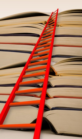 Ladder to Success Stock Photo - 13678252