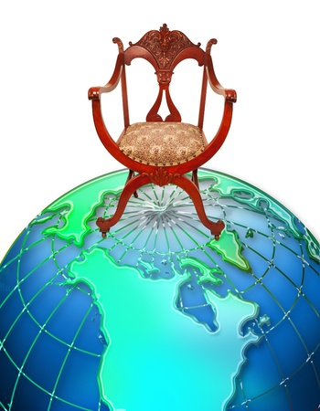 Chair on top of the world Stock Photo - 13684272