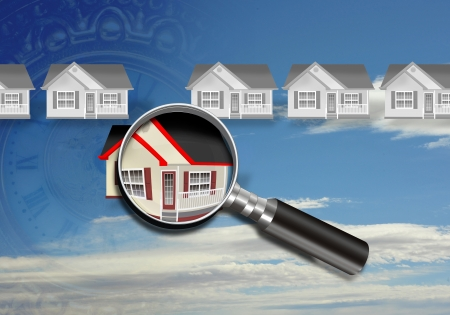 Home Inspection  Stockfoto