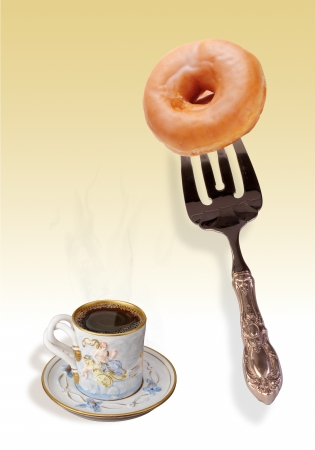 Coffee and Donuts  Stock Photo - 14205625