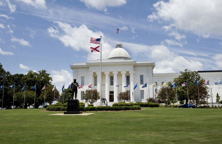 State Capital in Montgomery, Alabama