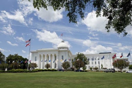 alabama state: State Capital in Montgomery, Alabama