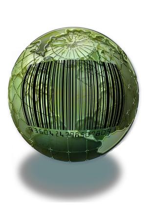 World Bar Code  Stock Photo - 14330200