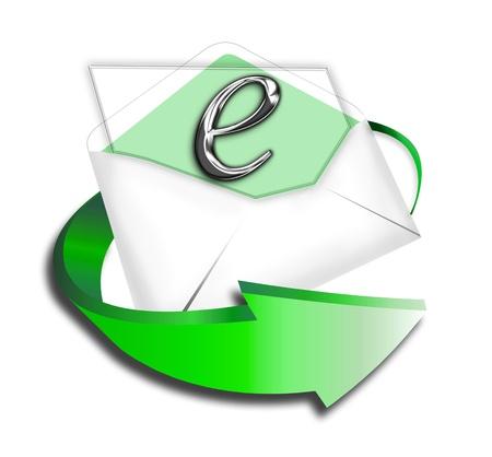 E-Commerce Letter Stock Photo - 14422523