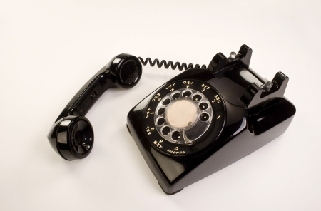 Old Style Rotary Telephone. Stock Photo - 14567684