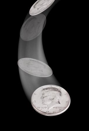 m�nzenwerfen: Kennedy Half Dollar