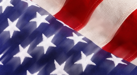 USA Flag With Movement  Stock Photo - 14772889
