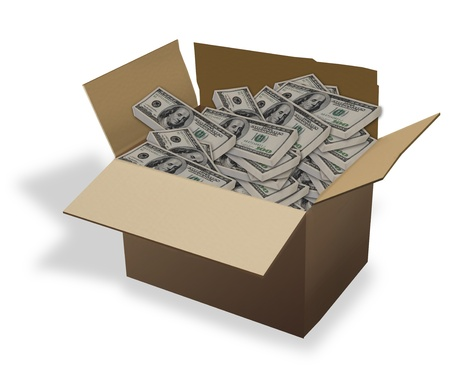 cash box: Box of Cash