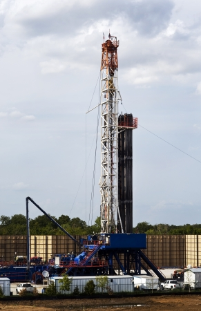Texas Oil Well Rig Stock Photo - 14877713
