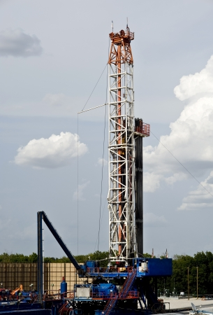 drilling rig: Texas Oil Well Rig