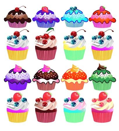 Cupcakes  Stock Photo - 14933937