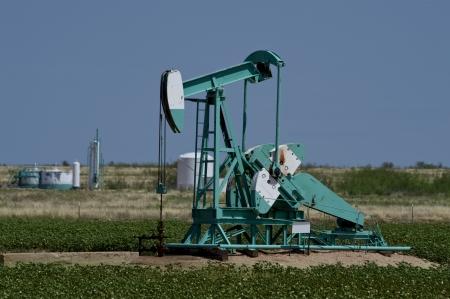 pumper: Oil Well Pumper in West Texas