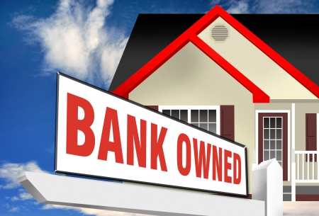 Bank Owned Foreclosure Stock Photo - 15141748