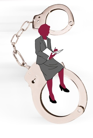 Woman and law Stock Photo - 15244940