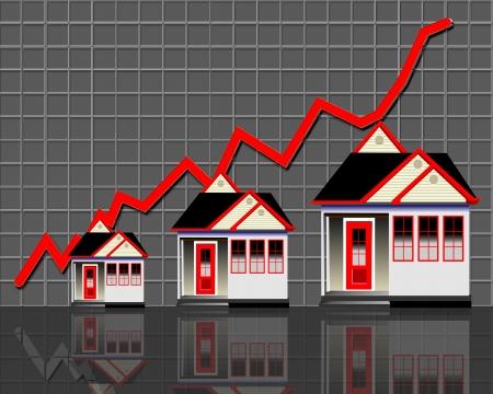 上がる住宅販売