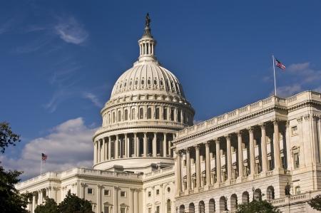 constitucion: EE.UU. Capital Building en Washington DC Foto de archivo
