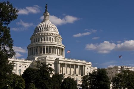 U S Capital Building in Washington D C  Banco de Imagens