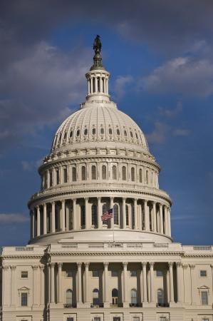u s: U S Capital Building in Washington D C  Stock Photo