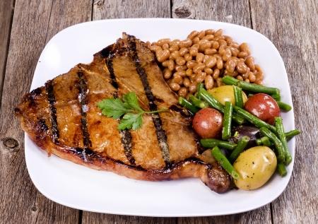 tbone: T-Bone Steak  Stock Photo