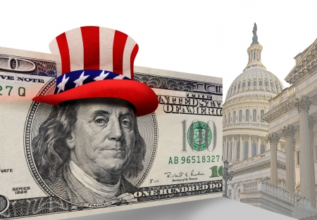 Washington D C  Money Stock Photo - 15474139