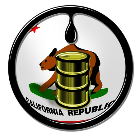 California Oil  Stock Photo